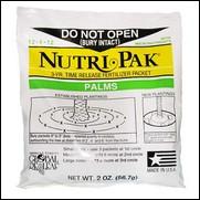 Nutri-Pak Palm (12-4-12) 1st Year Fertilizer Pack